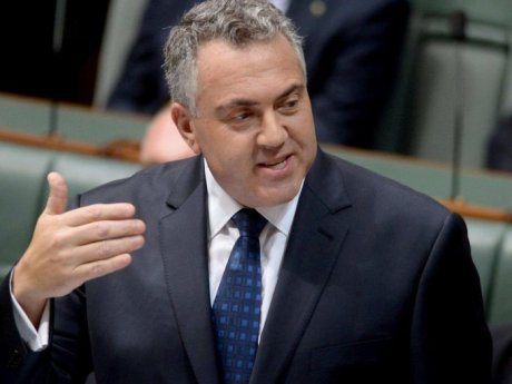 Joe Hockey Treasurer